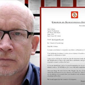 Letters to Alex Gibney